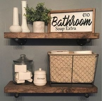 49 Small Bathroom Storage Decoation Ideas Here's How To Get All The Space You Need 47