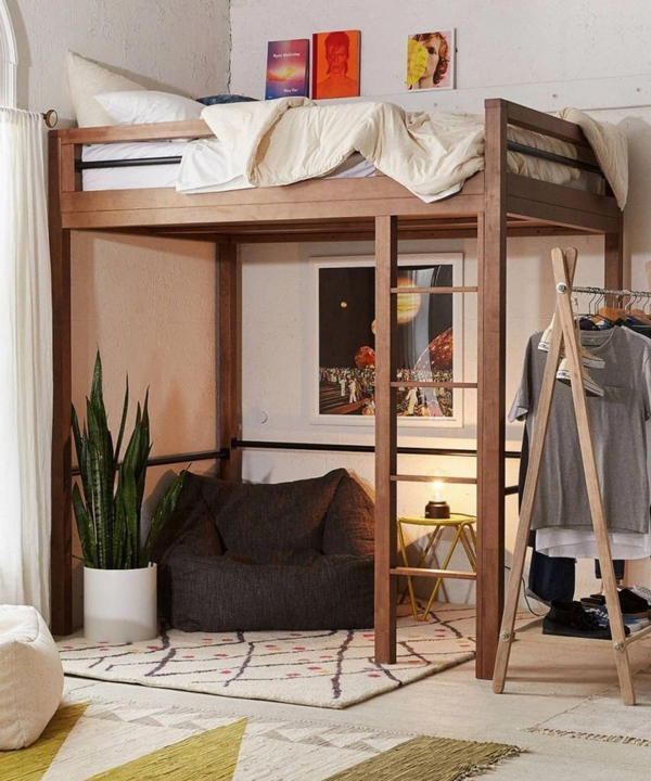 72 Most Popular Full Size Loft Bed with Stairs and What You Must Know 6373
