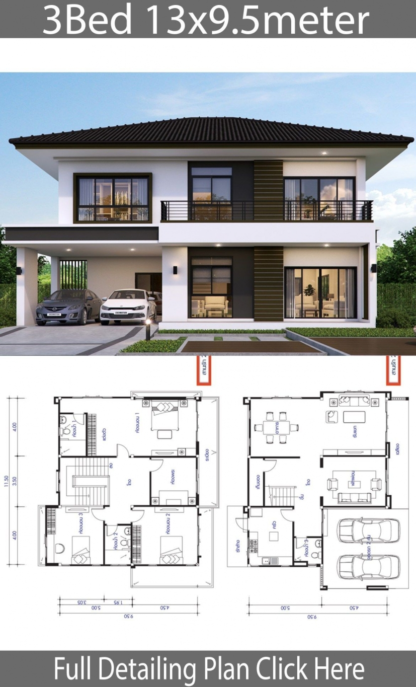 10 top Choices Beautiful Modern 2 Story House -9535