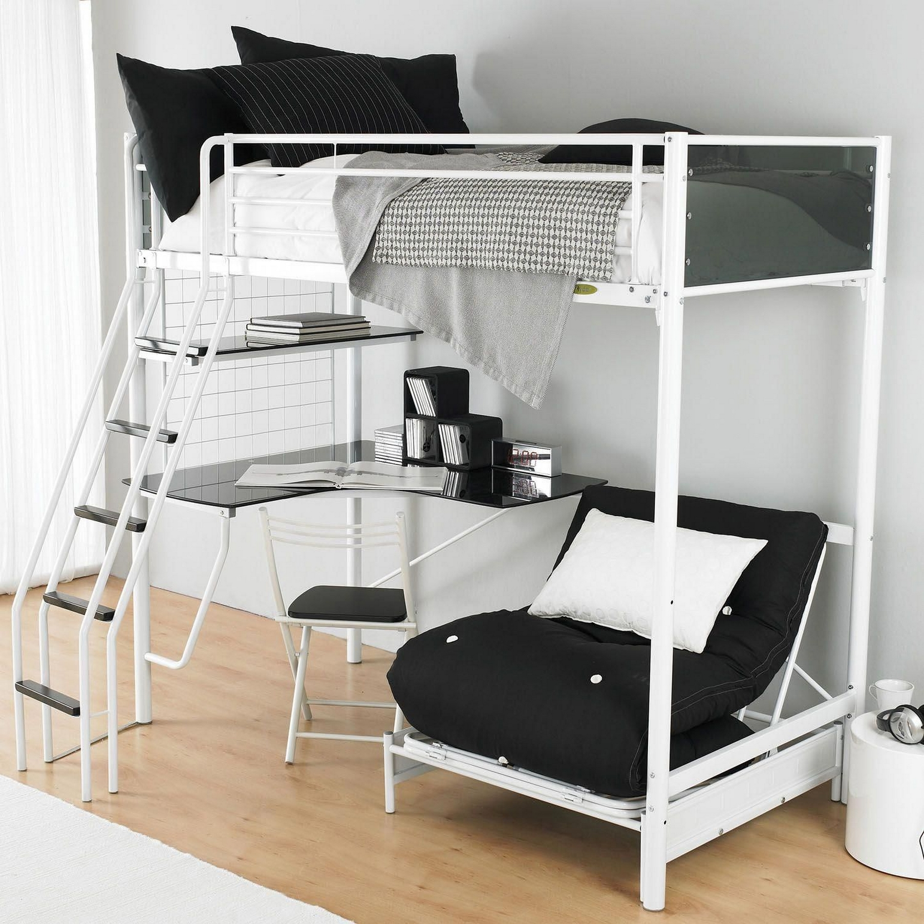 34 Bunk Bed Design Ideas With The Most Enthusiastic Desk In Interest 27