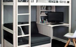 39 Amazing Bunk Beds With Desk Design Ideas Tips Choosing Bunk Beds With Desks 38