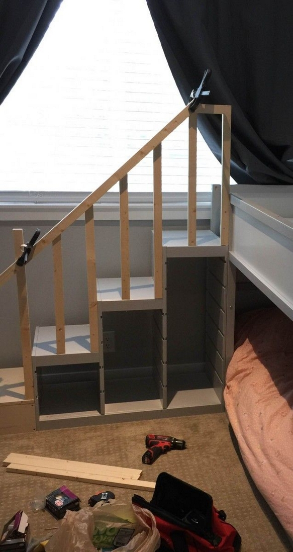 82 Amazing Models Bunk Beds With Guard Rail On Bottom Ensuring Your Bunk Bed Is Safe For Your Children 13