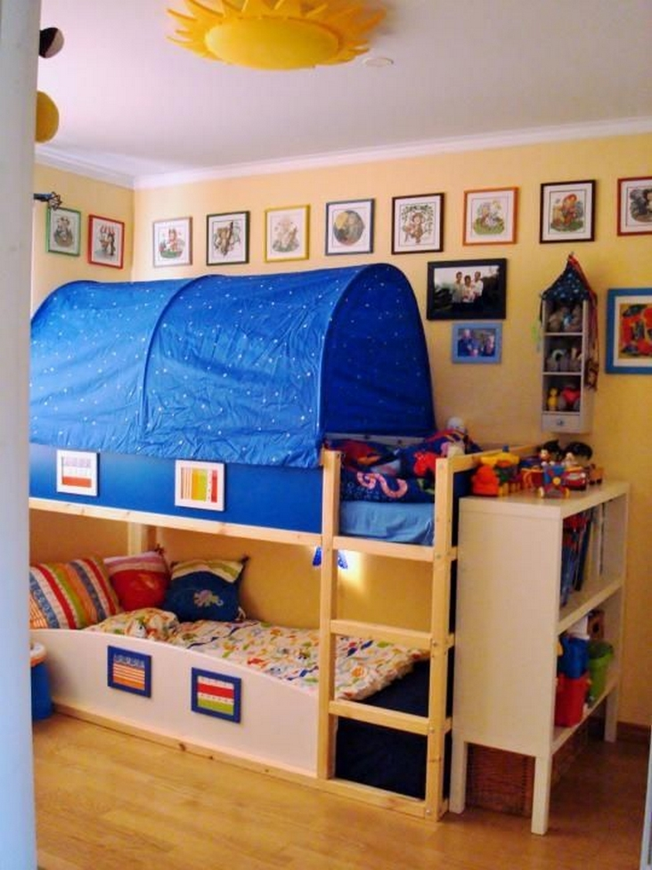 82 Amazing Models Bunk Beds With Guard Rail On Bottom Ensuring Your Bunk Bed Is Safe For Your Children 18