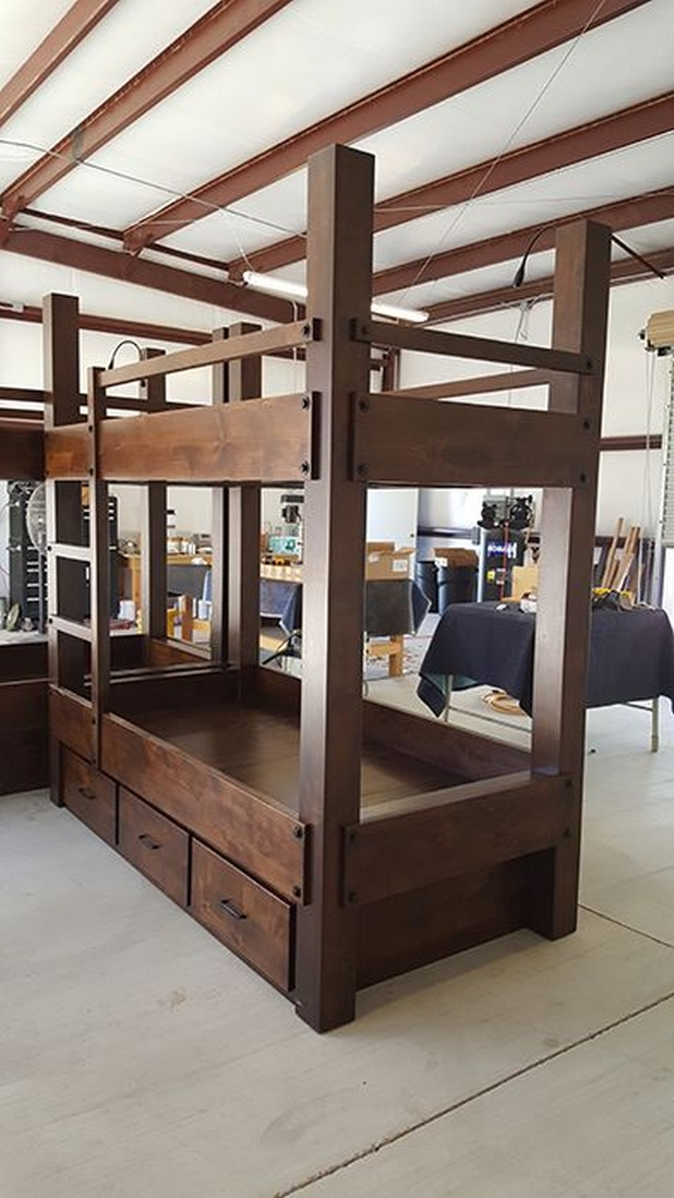 82 Amazing Models Bunk Beds With Guard Rail On Bottom Ensuring Your Bunk Bed Is Safe For Your Children 51