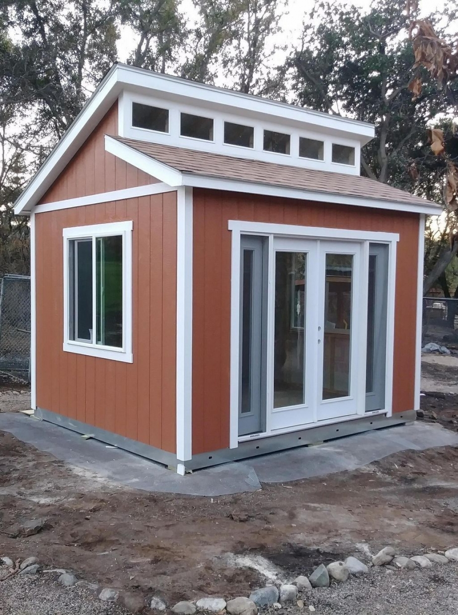 86 Modern Shed Design Looks Luxury to Complement Your Home-9460