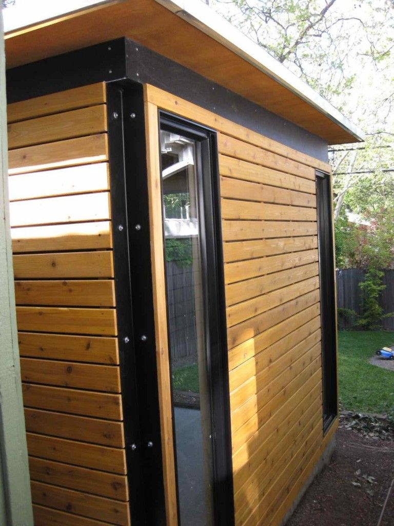 86 Modern Shed Design Looks Luxury to Complement Your Home-9512