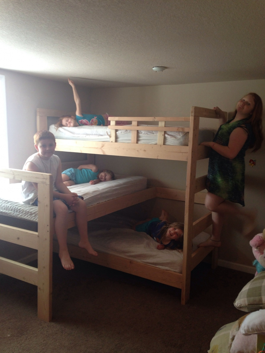 90 top Picks for A Triple Bunk Bed for Kids Rooms-9562