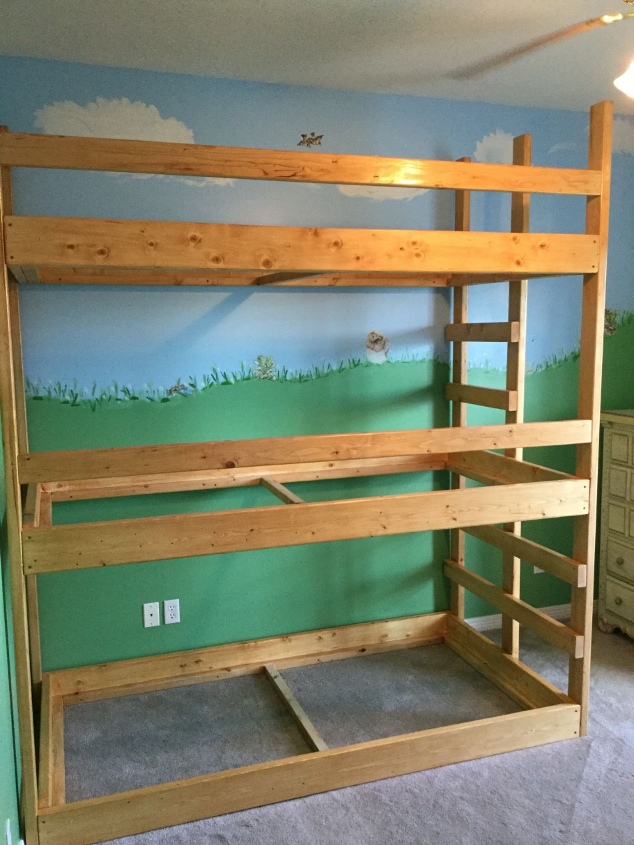 90 top Picks for A Triple Bunk Bed for Kids Rooms-9581