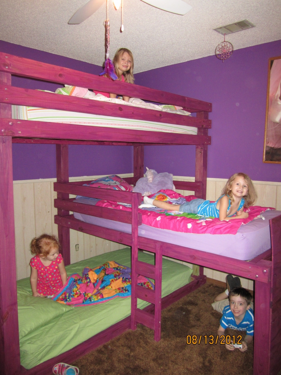 90 top Picks for A Triple Bunk Bed for Kids Rooms-9588
