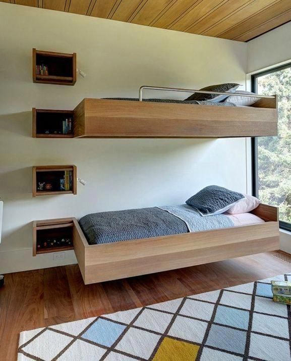94 Minimalist Bunk Beds Design Ideas - Tips for Designing the Space-10167