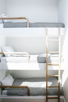 94 Minimalist Bunk Beds Design Ideas - Tips for Designing the Space-10190