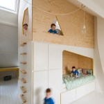 94 Minimalist Bunk Beds Design Ideas - Tips for Designing the Space-10203