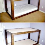 94 Minimalist Bunk Beds Design Ideas - Tips for Designing the Space-10158