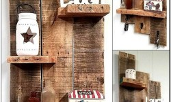 99 Fantastic Models of wooden pallet shelves for your woodworking Project  inspiration