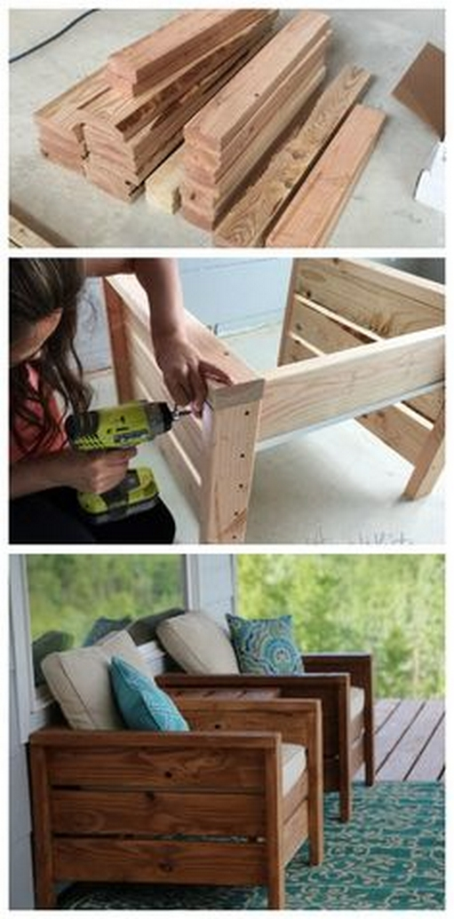 60+ DIY Outdoor Furniture Chairs Inspires 44