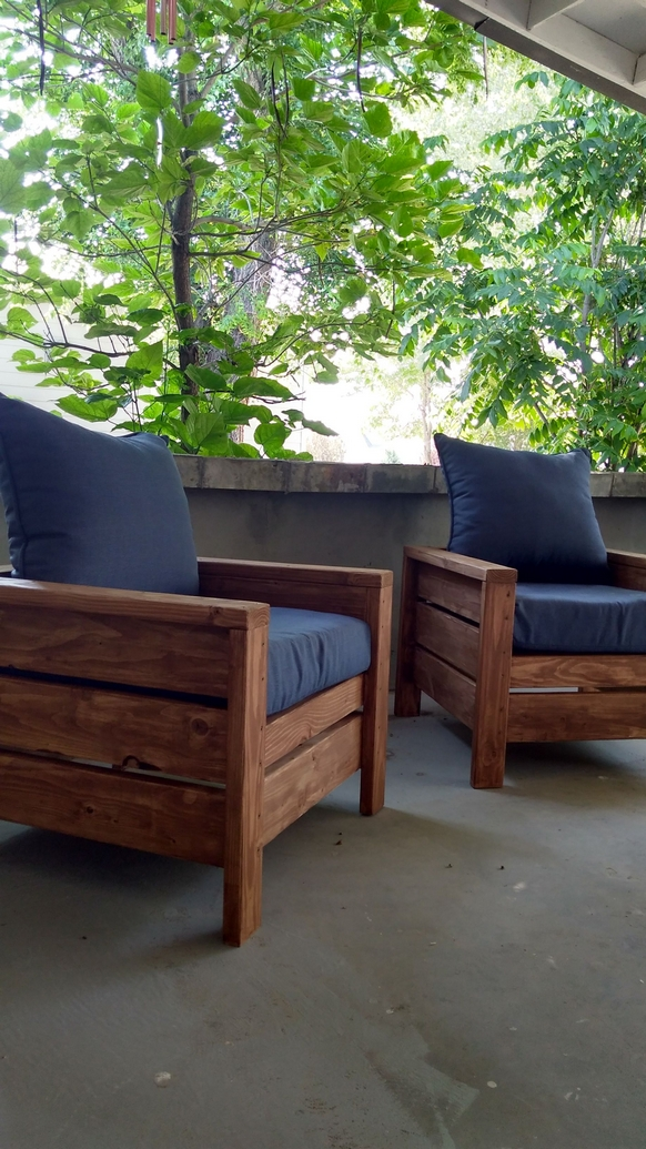 60+ DIY Outdoor Furniture Chairs Inspires 6