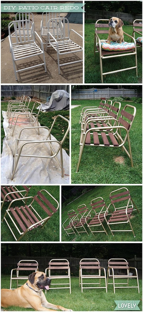 60+ DIY Outdoor Furniture Chairs Inspires 7