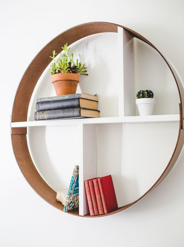 89 Models Beautiful Circular Bookshelf Design For Complement Of Your Home Decoration 10