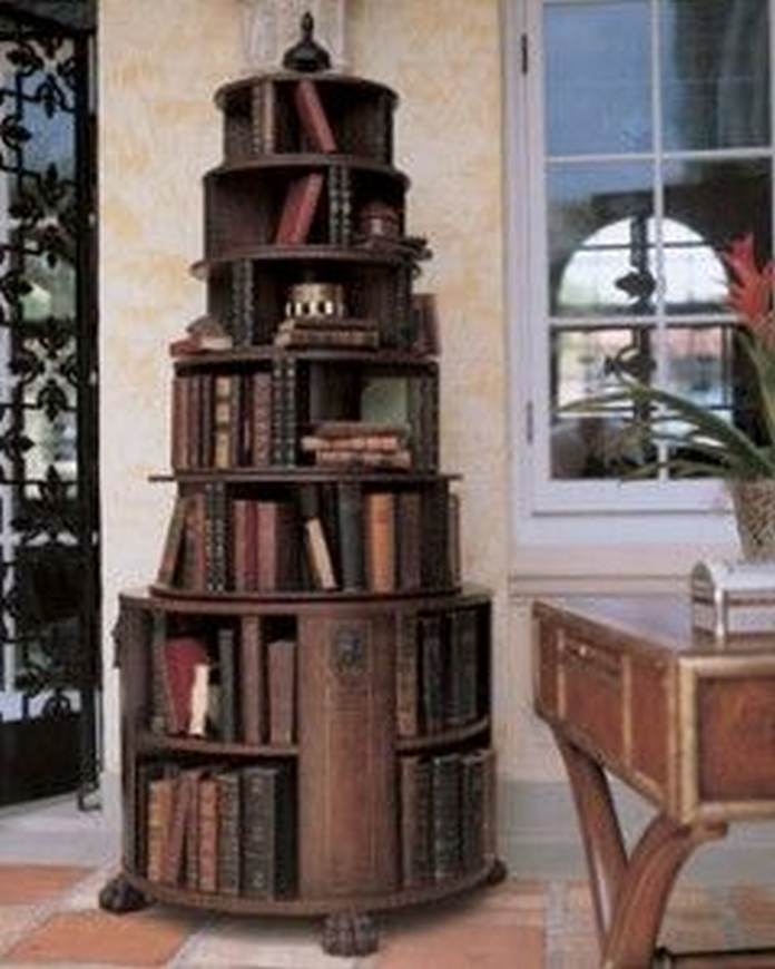 89 Models Beautiful Circular Bookshelf Design For Complement Of Your Home Decoration 48