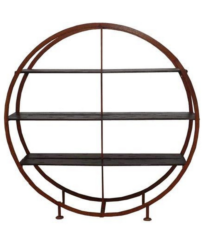 89 Models Beautiful Circular Bookshelf Design For Complement Of Your Home Decoration 5