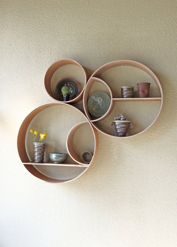 89 Models Beautiful Circular Bookshelf Design For Complement Of Your Home Decoration 62