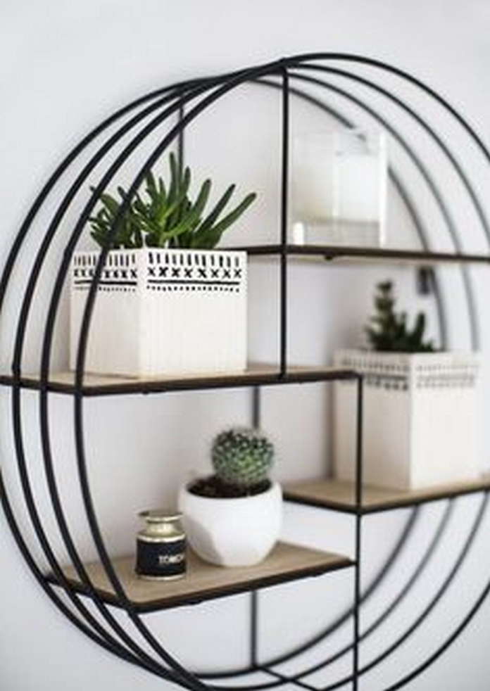 89 Models Beautiful Circular Bookshelf Design For Complement Of Your Home Decoration 80