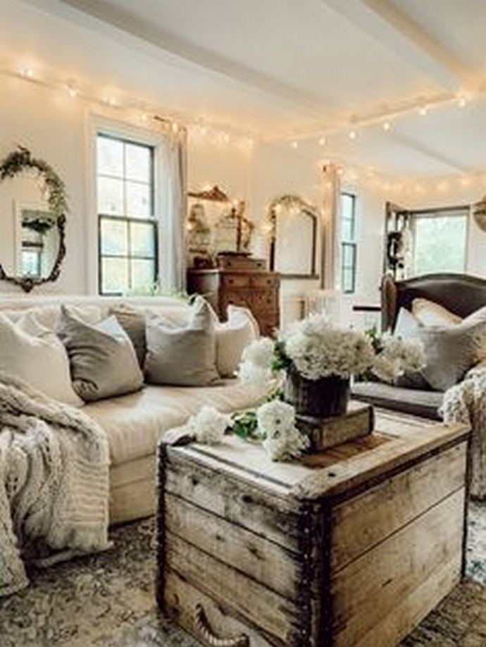 90 Most Popular Farmhouse Style Interior Design 8
