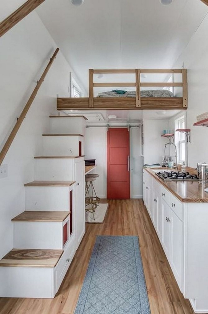 97 Cozy Tiny House Interior Are You Planning For Enough Storage 6