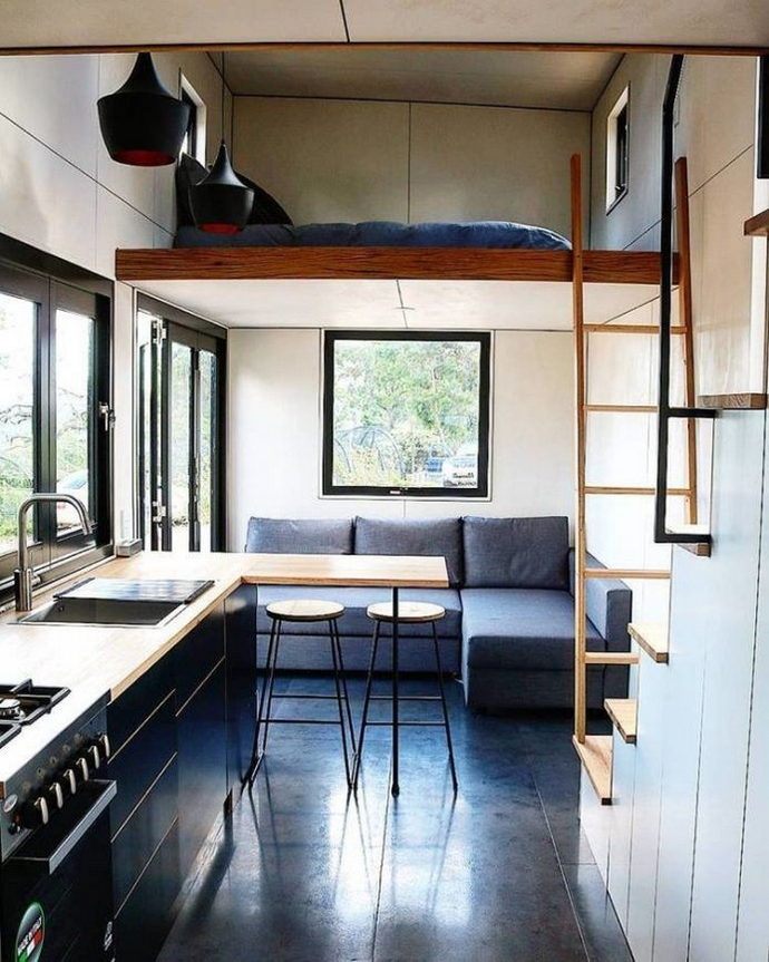 97 Cozy Tiny House Interior Are You Planning For Enough Storage 84