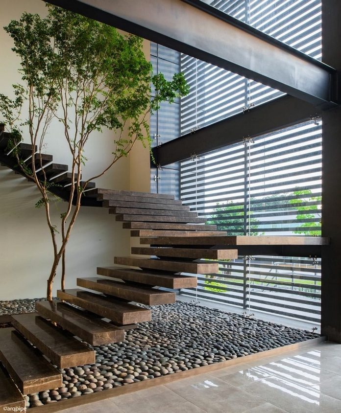 97 Most Popular Modern House Stairs Design Models 20