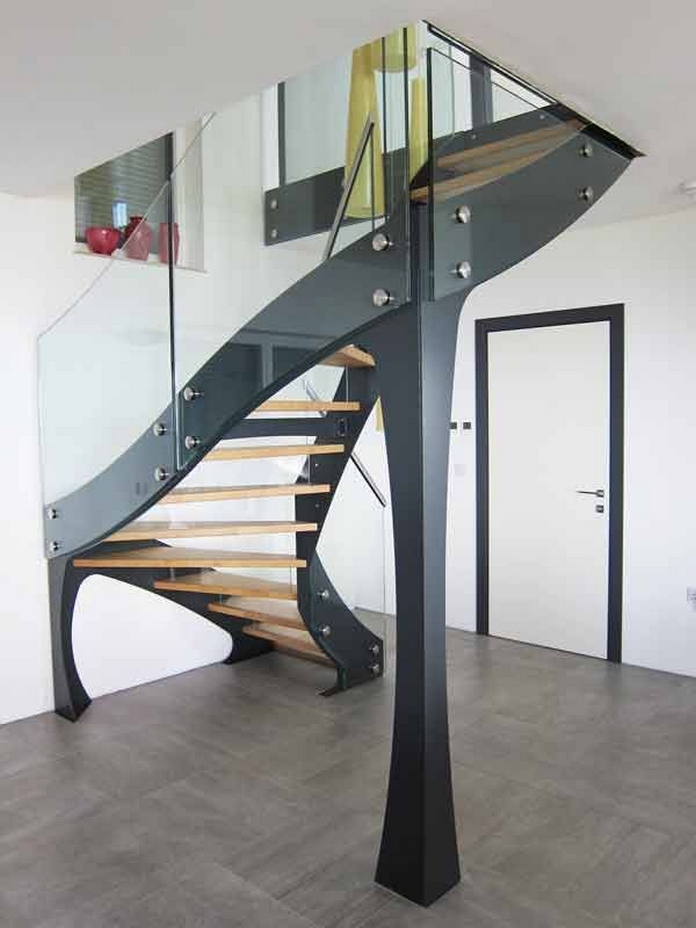 97 Most Popular Modern House Stairs Design Models 68