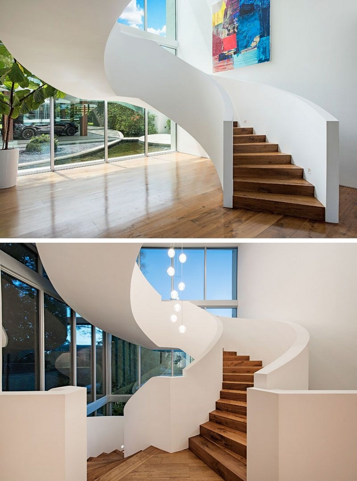 97 Most Popular Modern House Stairs Design Models 70