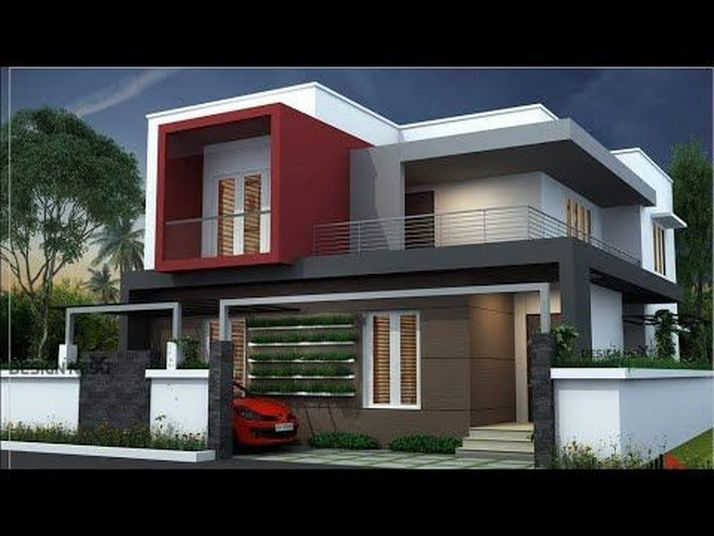 44 The Best Choice Of Modern Home Roof Design Models 1