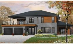 44 The Best Choice Of Modern Home Roof Design Models 23
