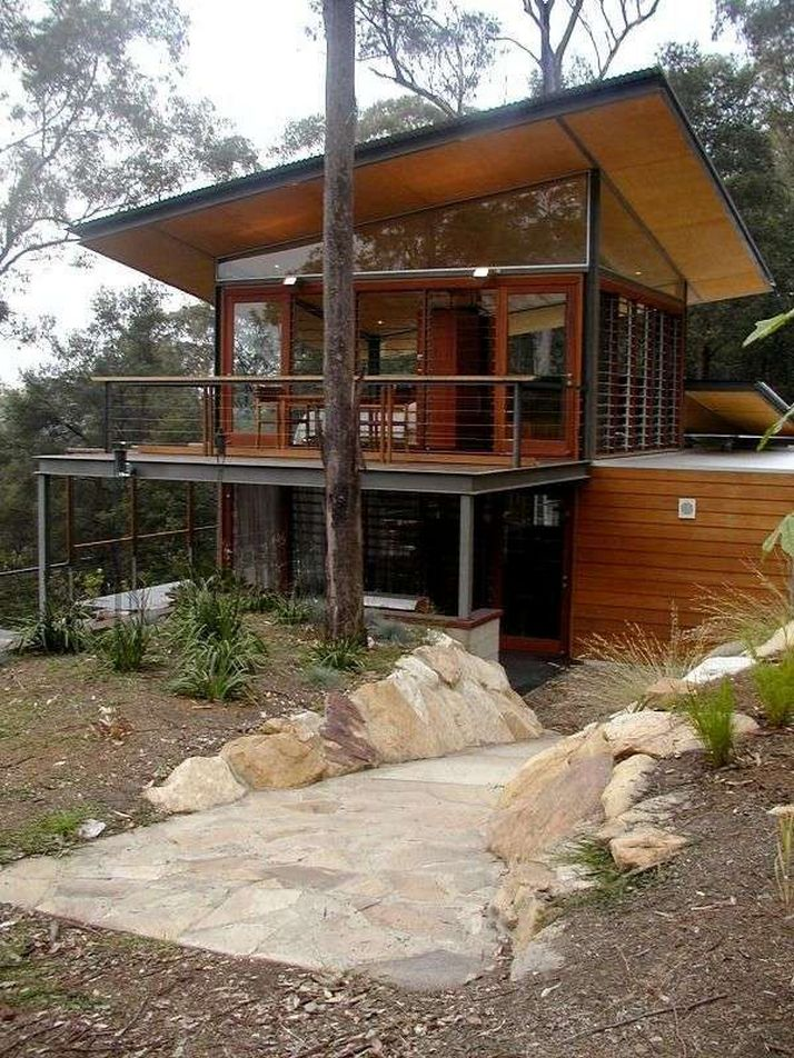 44 The Best Choice Of Modern Home Roof Design Models 34