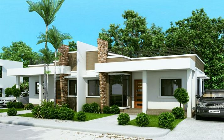 44 The Best Choice Of Modern Home Roof Design Models 9