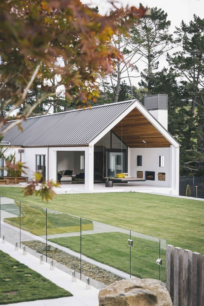 70+ Most Popular Modern Flat Roof House Design 28