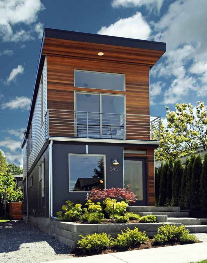 70+ Most Popular Modern Flat Roof House Design 44