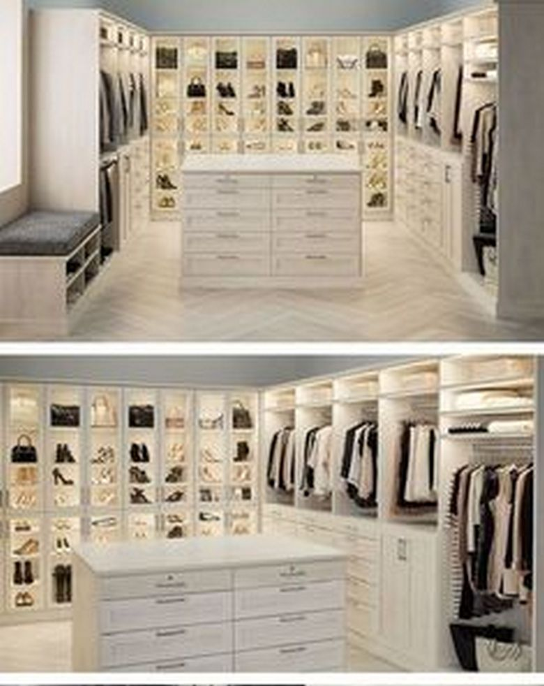90 Modern Master Closet Models That Inspire Your Home Decor 50