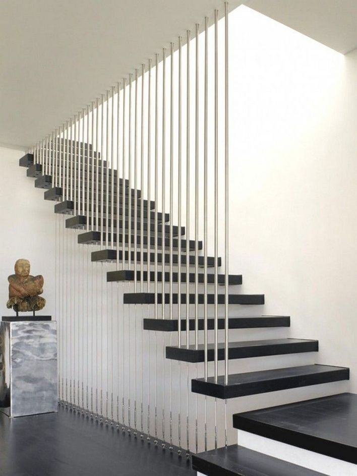 95 Cool Modern Staircase Designs For Homes (10)
