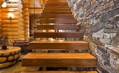 95 Cool Modern Staircase Designs For Homes (25)