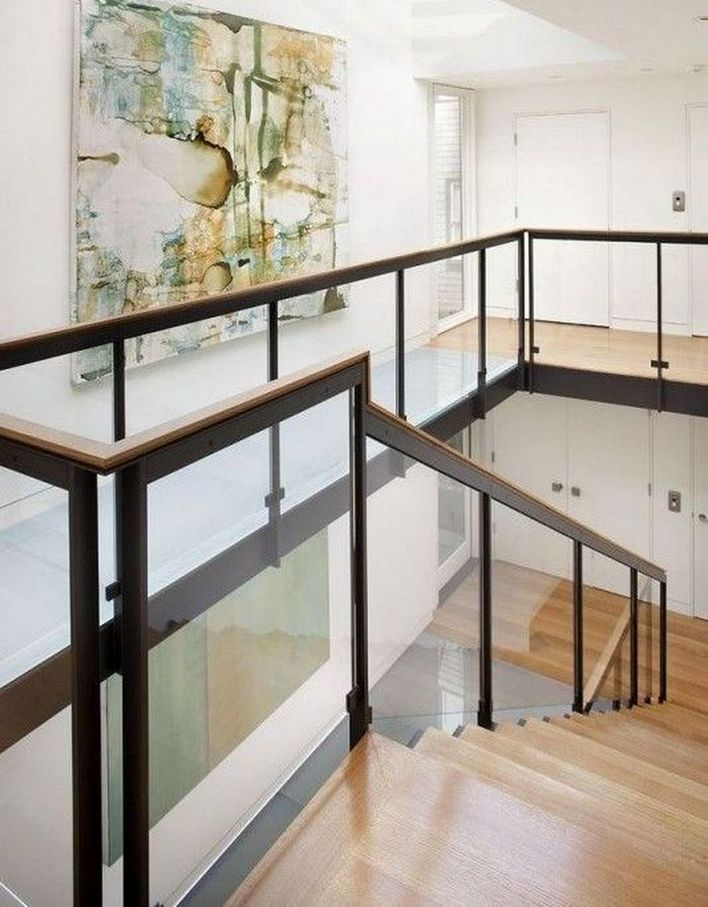 95 Cool Modern Staircase Designs For Homes (46)