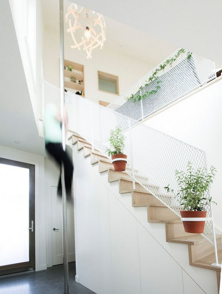 95 Cool Modern Staircase Designs For Homes (61)