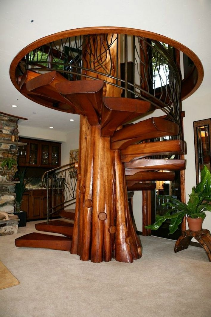 95 Cool Modern Staircase Designs For Homes (69)