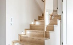 95 Cool Modern Staircase Designs For Homes (70)