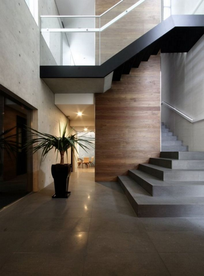 95 Cool Modern Staircase Designs For Homes (82)
