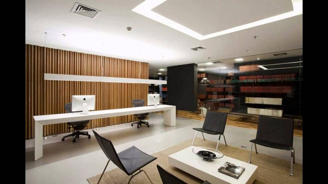 96 Modern Home Office Design Looks Elegant 20