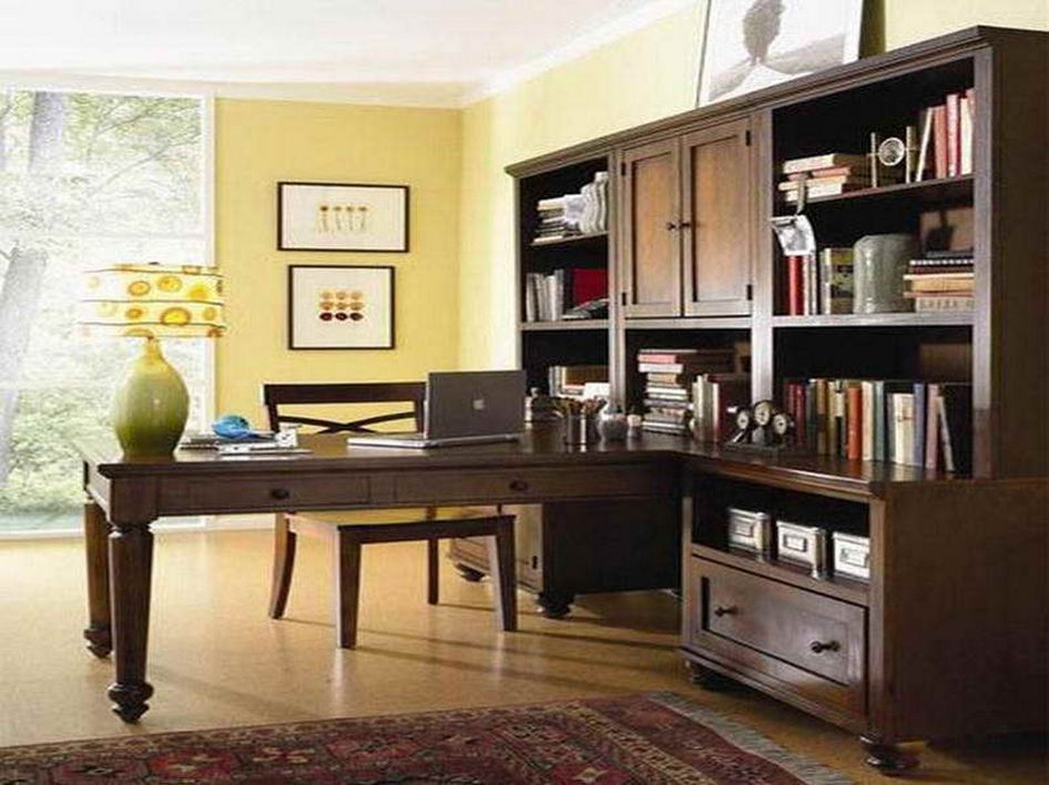 96 Modern Home Office Design Looks Elegant 24