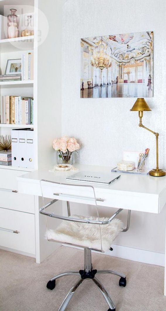96 Modern Home Office Design Looks Elegant 44
