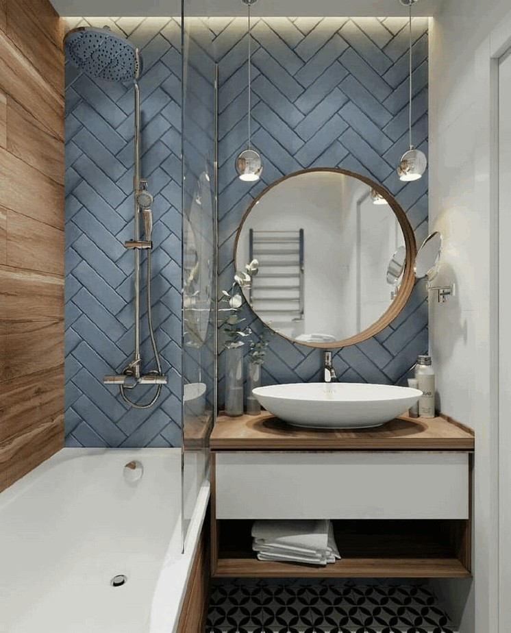 45 Wonderful Compact Bathroom Designs And Concepts